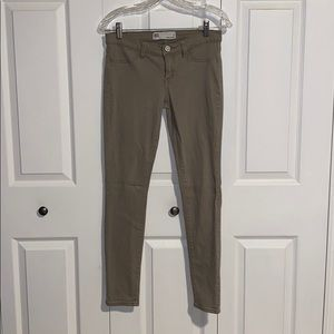 Miami Jean Leggings / Jeggings // Khaki